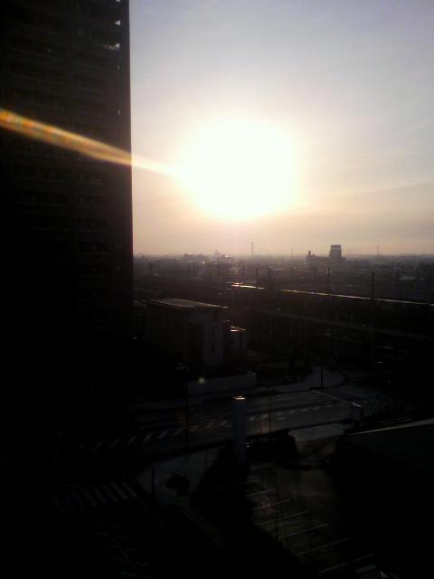 浜松の朝陽